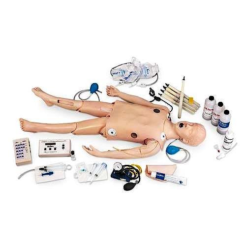 Maniquí infantil CRiSis™ Deluxe Life/Form® con Simulador de Electrocardiograma