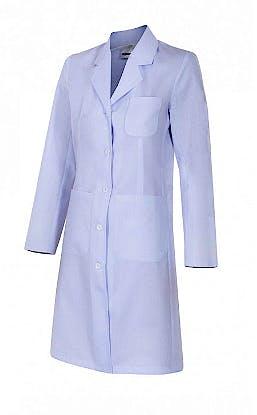 Bata Blanca Mujer Entallada Talla XL