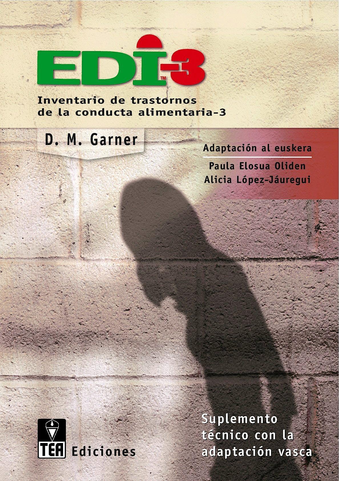 Portada del libro 9783462042870 EDI-3. Inventario de Trastornos de la Conducta Alimentaria. Cuadernillos (10 Unidades)