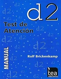 Portada del libro 9783462051438 D2. Test de Atención. Ejemplares Autocorregibles, 25 Unidades