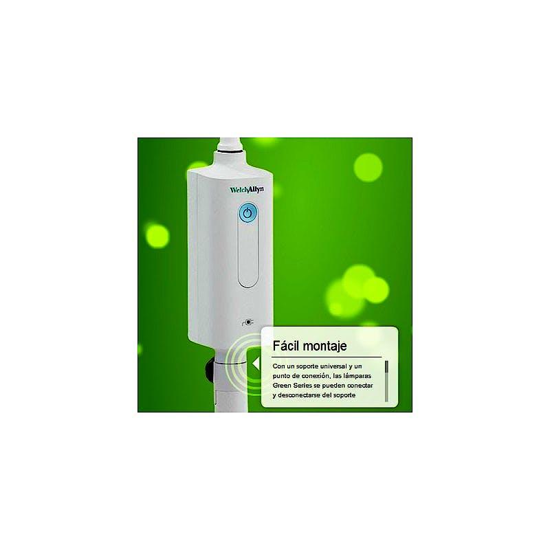 Lámpara para Exploración General Green Series™ 300 LED Welch & Allyn con Carro