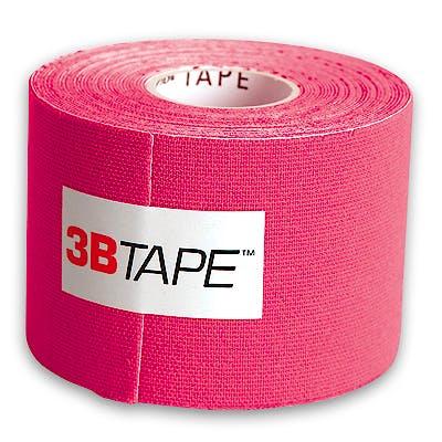 3B Tape Fucsia Kinesiology Tape, Rollo de 5 cm. x 5 m.