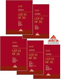 Portada del libro 9783473523405 USP41-NF36 Print Subscription 2018 (US Pharmacopeia National Formulary)