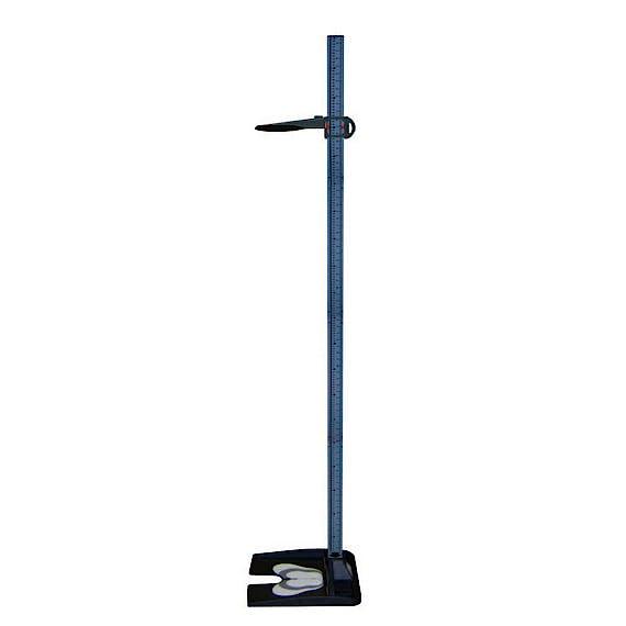 Tallímetro Mecánico Portátil ASIMED T226, Plegable en 4 Partes, Escala 20-210 cm., División 0,1 cm.
