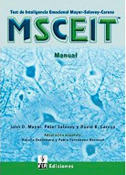 Portada del libro 9783492264235 MSCEIT. Test de Inteligencia Emocional Mayer-Salovey-Caruso (Juego Completo)