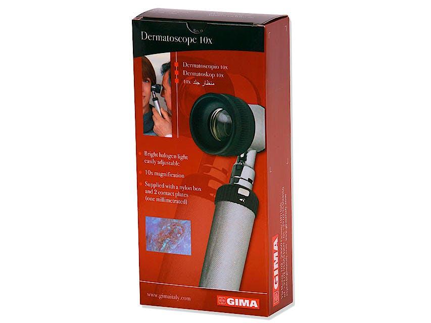 Dermatoscopio GIMA 2000, Luz Halógena 10x