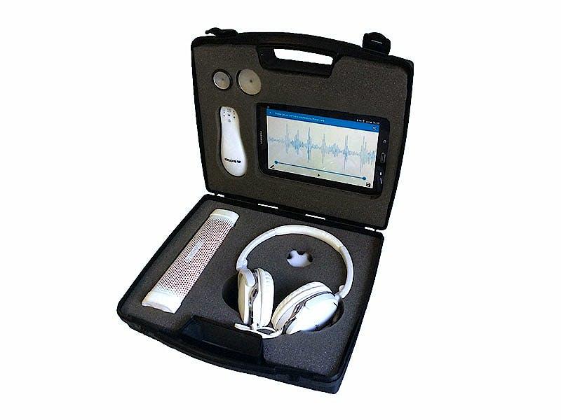 Fonendoscopio Electrónico EKUORE Pro Kit Premium + Campana Pediátrica + Campana Neonatal Kit Enseñanza