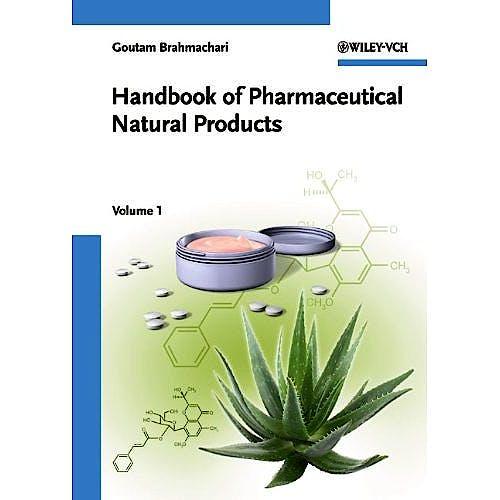 Portada del libro 9783527321483 Handbook of Pharmaceutical Natural Products