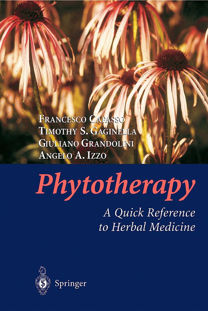 Portada del libro 9783540000525 Phytotherapy: A Quick Reference to Herbal Medicine