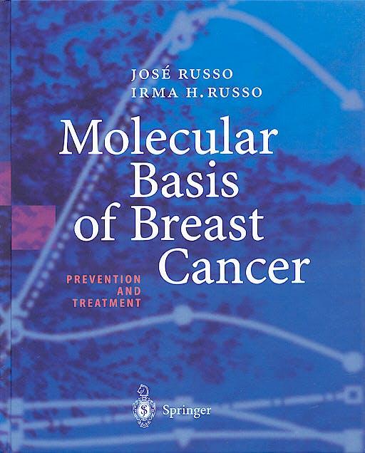 Portada del libro 9783540003915 Molecular Basis of Breast Cancer