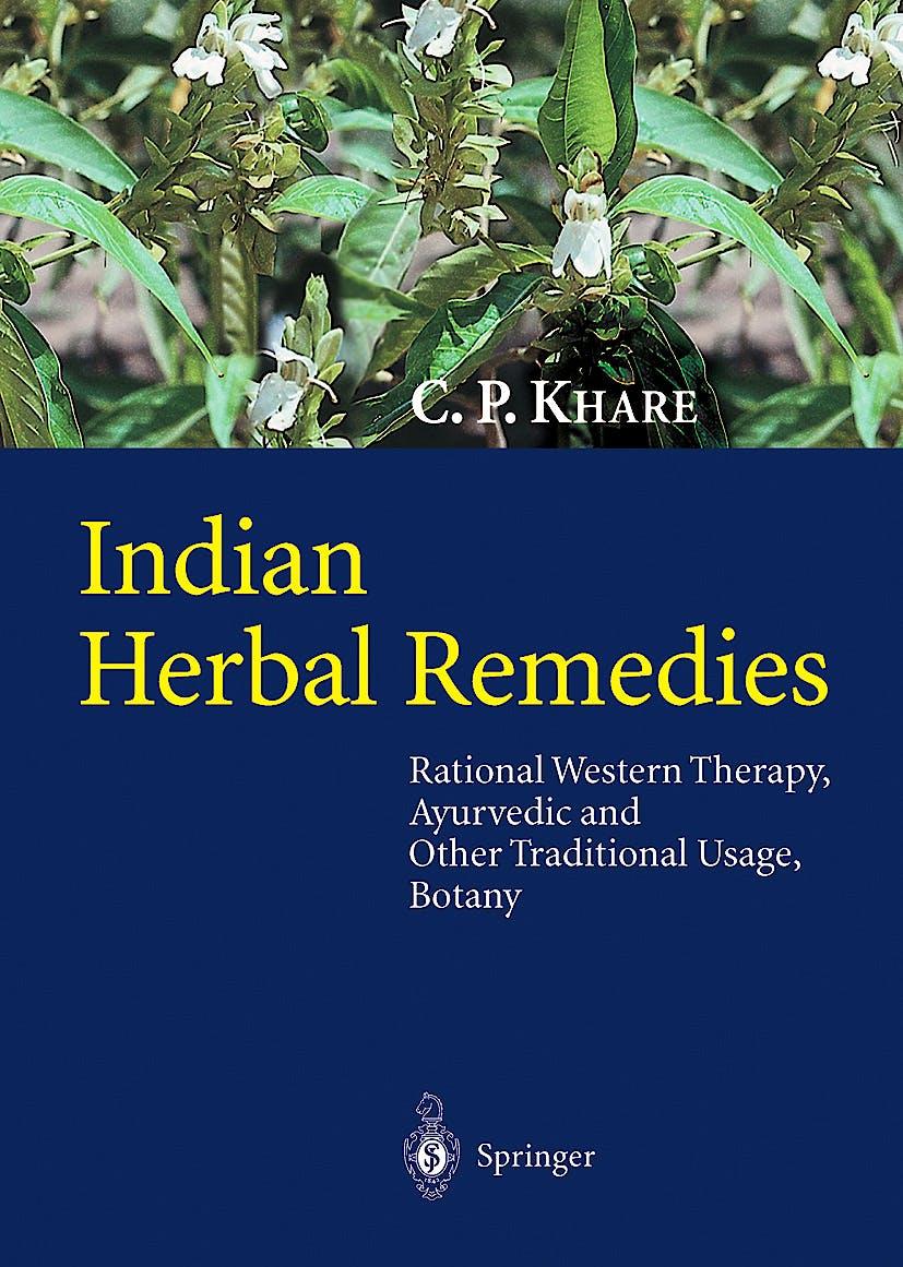 Portada del libro 9783540010265 Indian Herbal Remedies