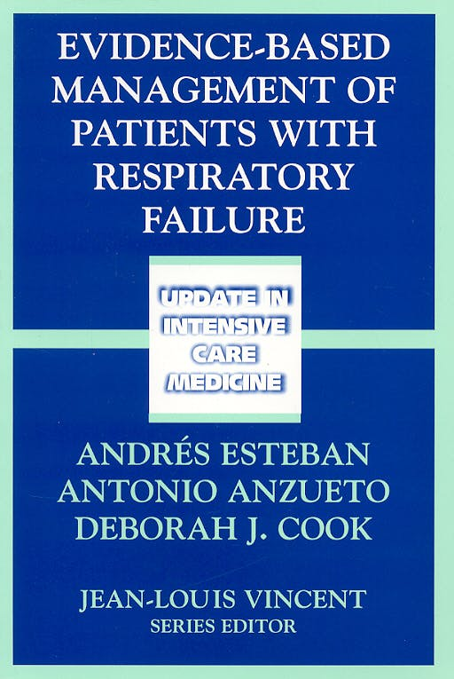 Portada del libro 9783540209478 Evidence-Based Management of Patients with Respiratory Failure