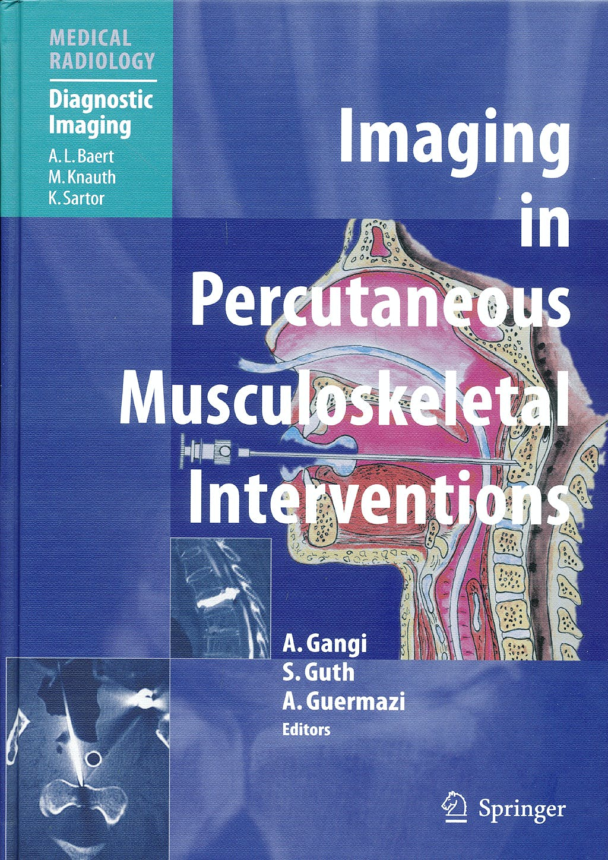 Portada del libro 9783540220978 Imaging in Percutaneous Musculoskeletal Interventions