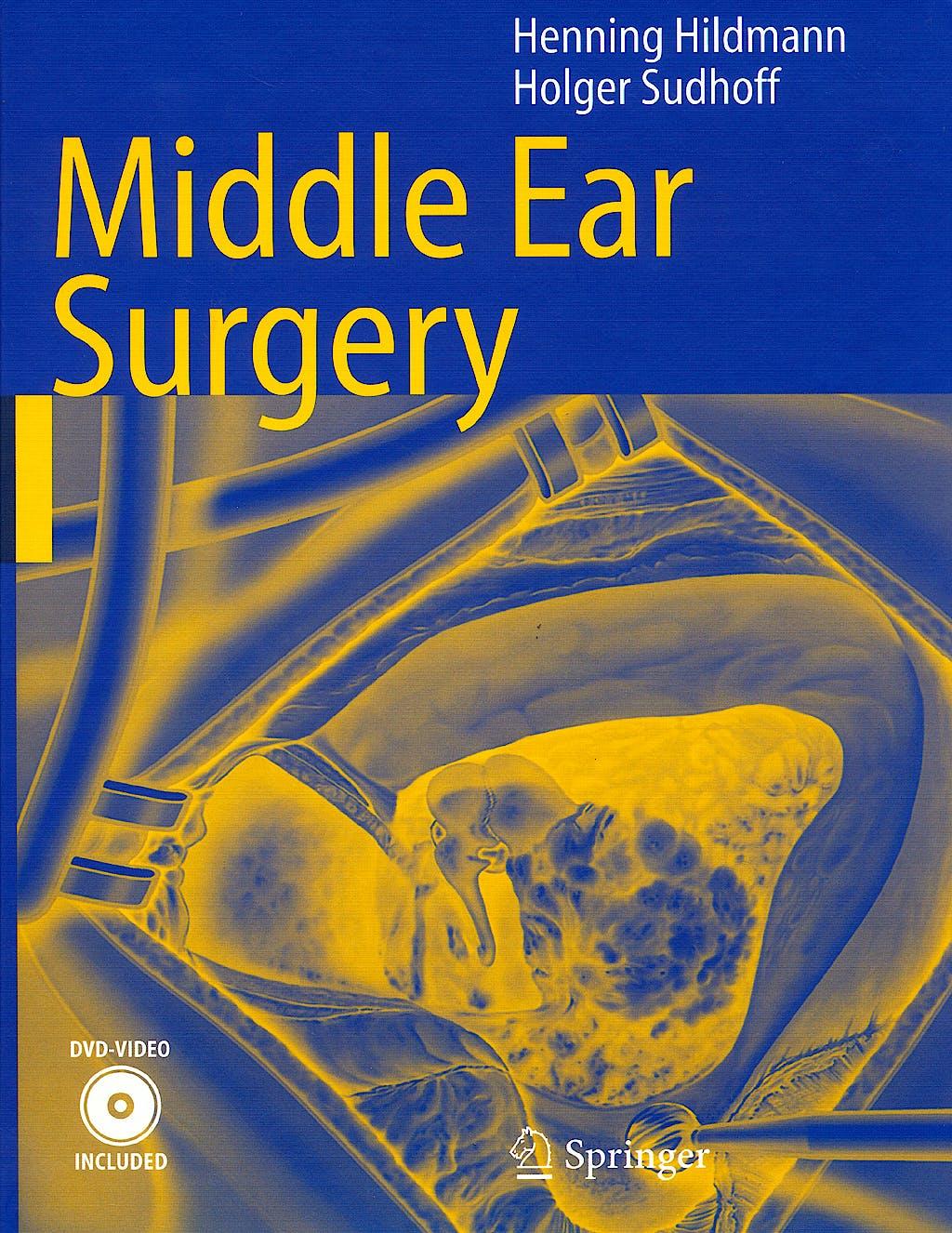 Portada del libro 9783540222019 Middle Ear Surgery + Dvd