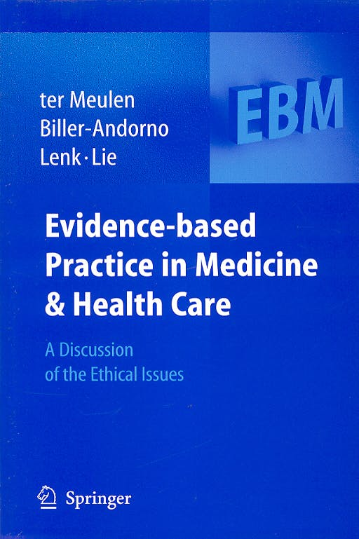 Portada del libro 9783540222392 Evidence-Based Practice in Medicine & Health Care