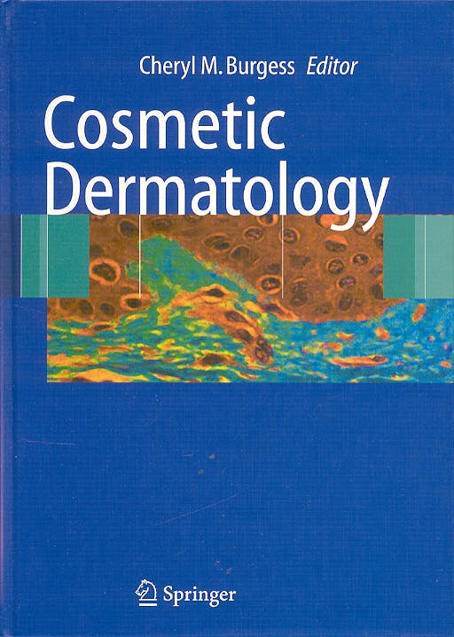 Portada del libro 9783540230649 Cosmetic Dermatology