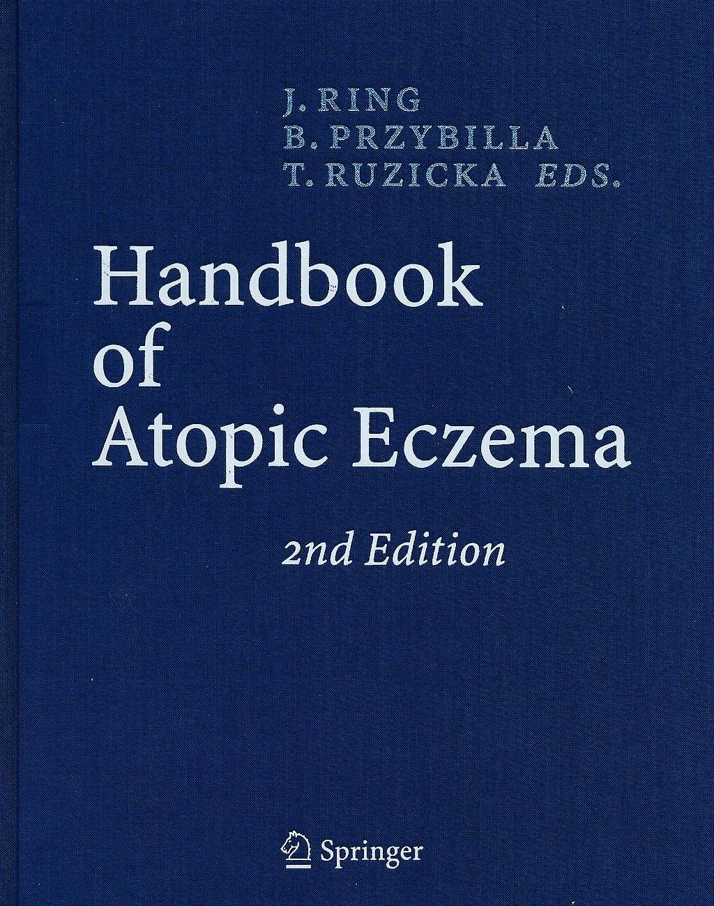 Portada del libro 9783540231332 Handbook of Atopic Eczema