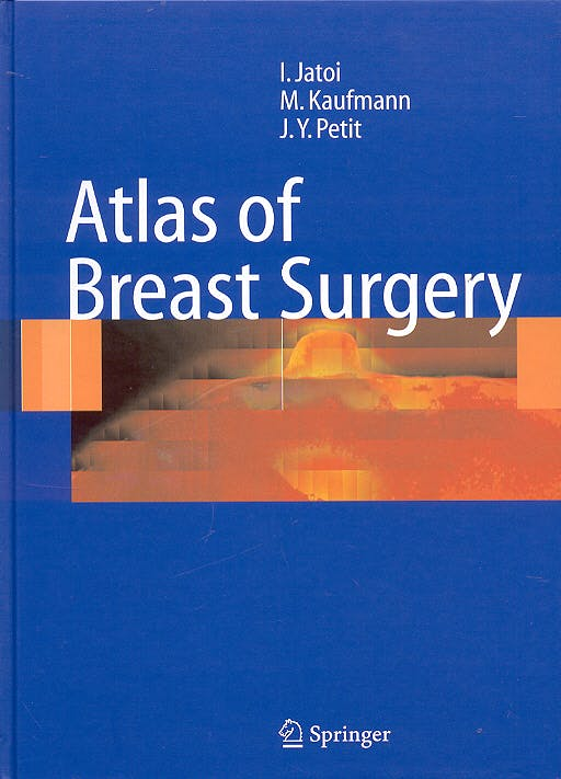 Portada del libro 9783540243519 Atlas of Breast Surgery