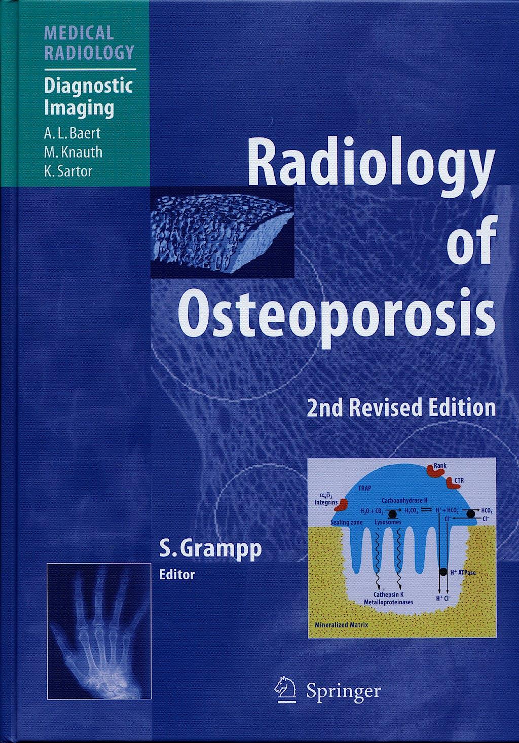 Portada del libro 9783540258889 Radiology of Osteoporosis