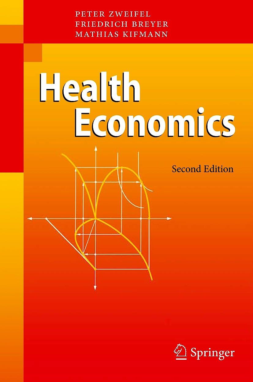 Portada del libro 9783540278047 Health Economics