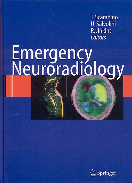 Portada del libro 9783540296263 Emergency Neuroradiology