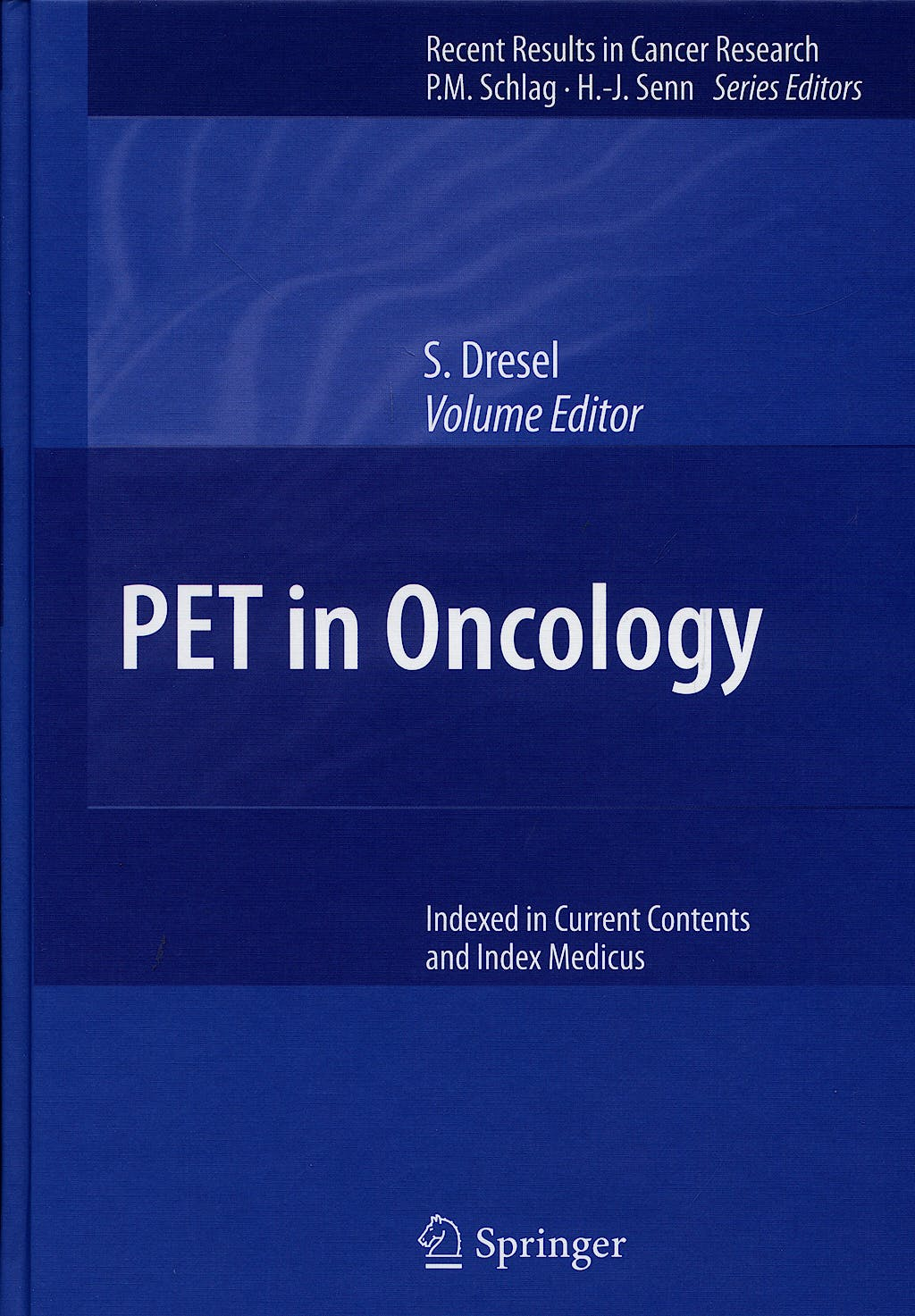 Portada del libro 9783540312024 Pet in Oncology
