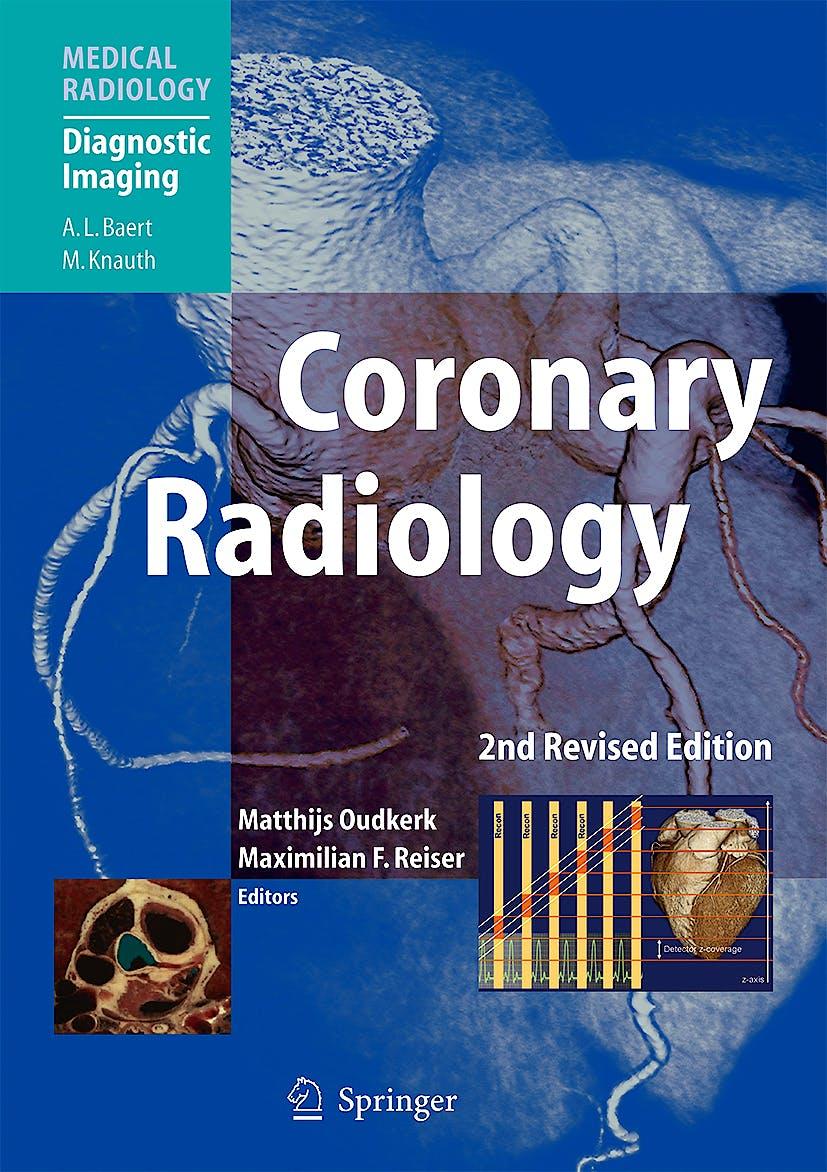 Portada del libro 9783540329831 Coronary Radiology