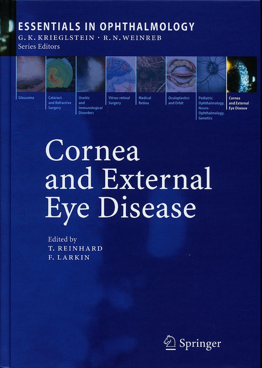 Portada del libro 9783540336808 Cornea and External Eye Disease (Essentials in Ophthalmology)