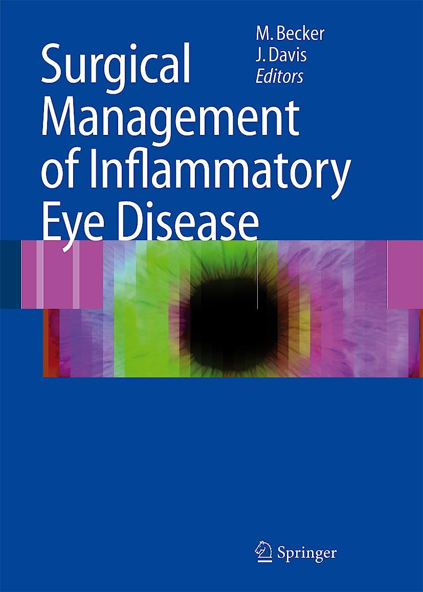 Portada del libro 9783540338611 Surgical Management of Inflammatory Eye Disease + Dvd