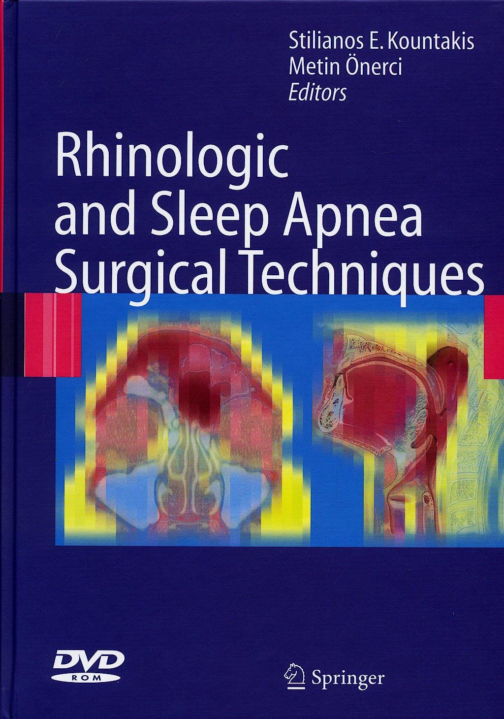 Portada del libro 9783540340195 Rhinologic and Sleep Apnea Surgical Techniques + Dvd