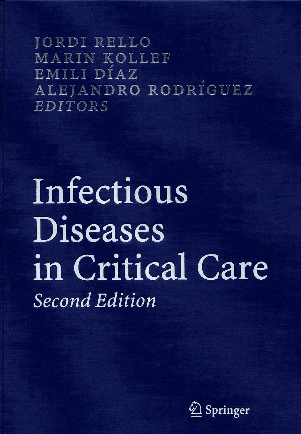 Portada del libro 9783540344056 Infectious Diseases in Critical Care