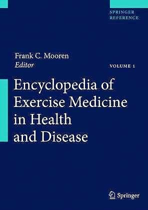 Portada del libro 9783540360650 Encyclopedia of Exercise Medicine in Health and Disease, 2 Vols.