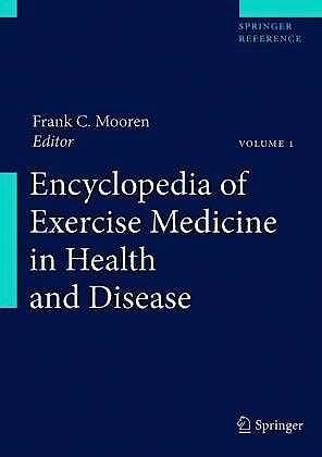 Portada del libro 9783540360667 Encyclopedia of Exercise Medicine in Health and Disease, 2 Vols. + Online Access