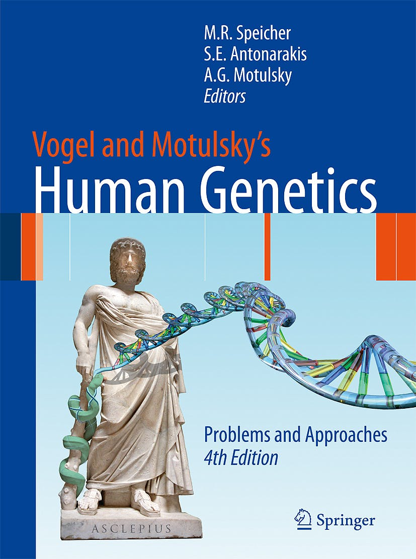 Portada del libro 9783540376538 Vogel and Motulsky's Human Genetics. Problems and Approaches
