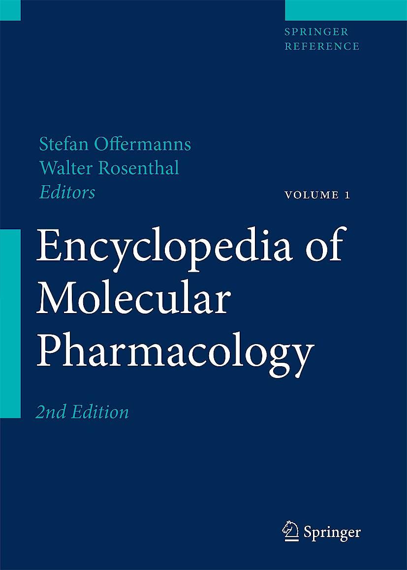 Portada del libro 9783540389217 Encyclopedia of Molecular Pharmacology + On-Line Access - 2 Vol.