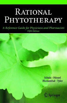 Portada del libro 9783540408321 Rational Phytotherapy