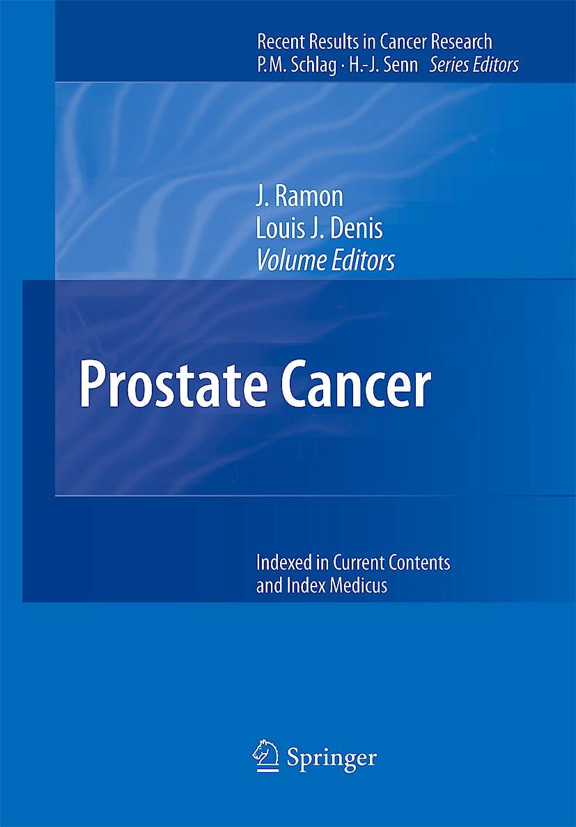 Portada del libro 9783540408970 Prostate Cancer