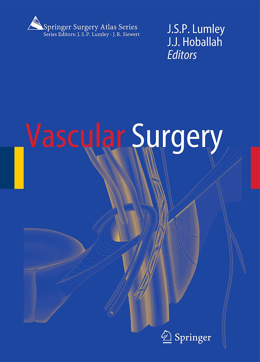 Portada del libro 9783540411024 Vascular Surgery