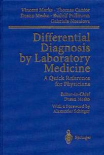 Portada del libro 9783540430575 Differential Diagnosis by Laboratory Medicine