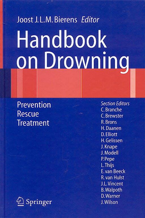 Portada del libro 9783540439738 Handbook on Drowning. Prevention Rescue Treatment