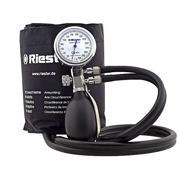 Tensiómetro RIESTER Minimus III Color Negro (Doble Vía)