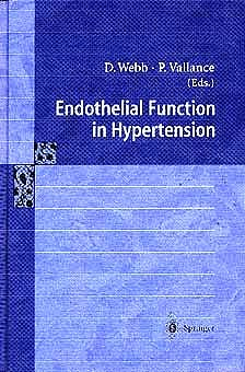 Portada del libro 9783540629436 Endothelial Function in Hypertension