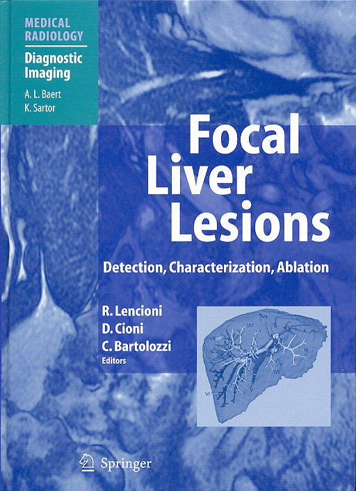 Portada del libro 9783540644644 Focal Liver Lesions