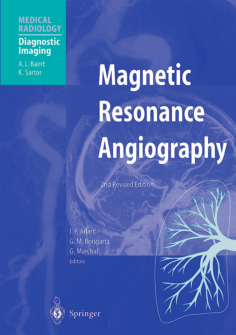 Portada del libro 9783540650911 Magnetic Resonance Angiography