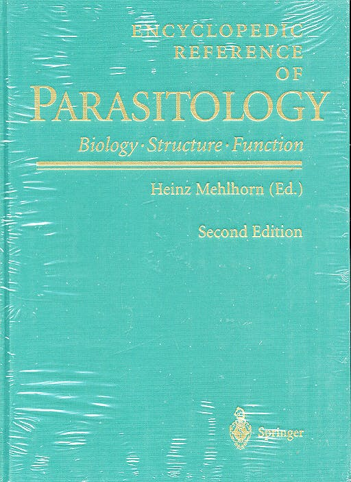 Portada del libro 9783540668190 Encyclopedic Reference of Parasitology