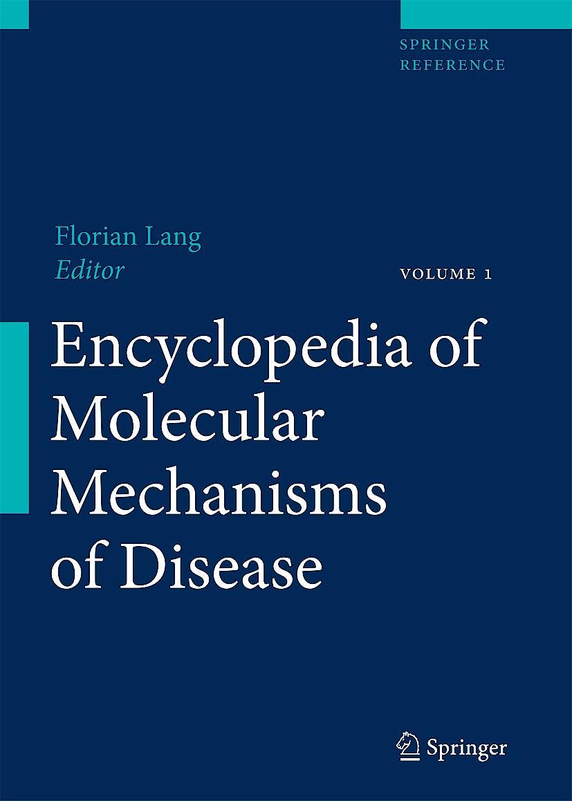 Portada del libro 9783540671367 Encyclopedia of Molecular Mechanisms of Disease, 3 Vols.