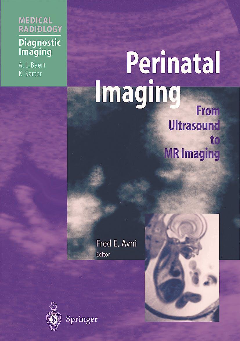 Portada del libro 9783540673279 Perinatal Imaging