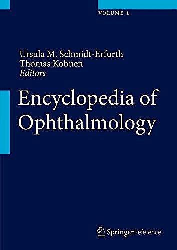 Portada del libro 9783540690016 Encyclopedia of Ophthalmology, 2 Vols.