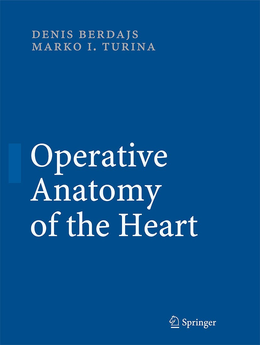 Portada del libro 9783540692270 Operative Anatomy of the Heart