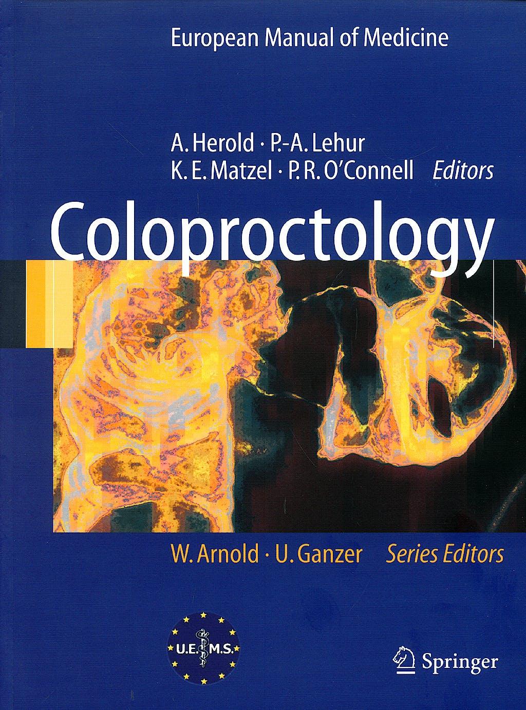 Portada del libro 9783540712169 Coloproctology